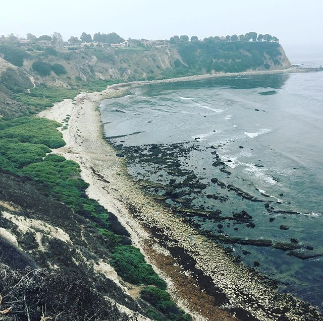 #palosverdes #パロスバーデス半島 so cloudy.. まるで日本のような景色…^ ^; - from Instagram