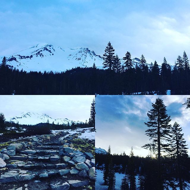 #solotraveler #bunnyflat #mountshasta Amazing snow mountain and clear air make me purify:)https://m.facebook.com/anne0710 - from Instagram