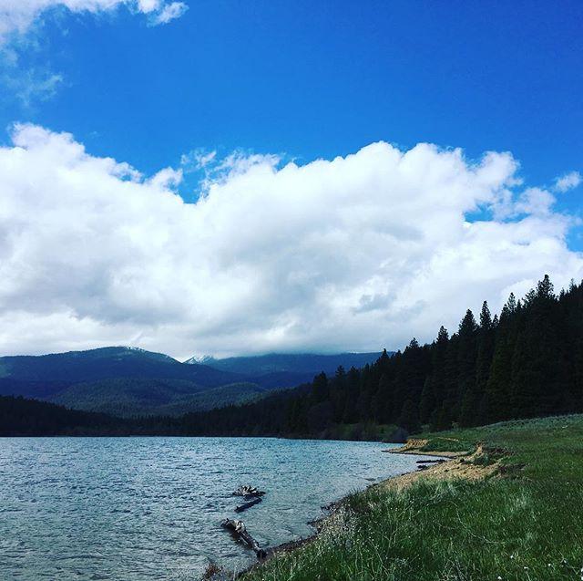 #solotraveler #lakesiskiyou #mountshasta Find Mt. Shasta in the cloud;)https://m.facebook.com/anne0710 - from Instagram