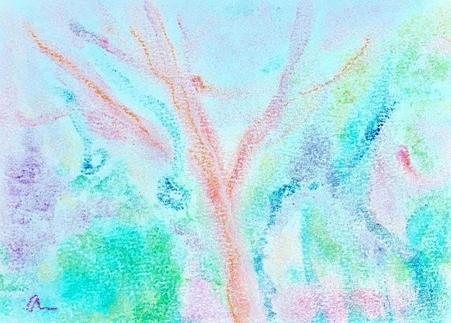 """#myartwork #channelingart #automaticdrawing #healingart""""Nature At Henry W Coe""""https://m.facebook.com/anne0710 - from Instagram"""