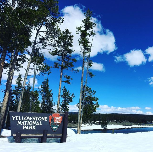 #solotraveler #yellowstonenationalpark #southentrance I can't believe! This entrance is closed!!!!https://m.facebook.com/anne0710 - from Instagram
